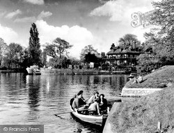 Weybridge, The Ferry c.1960