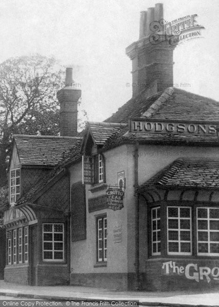 Photo of Weybridge, the Grotto Inn 1906, ref. 55648x