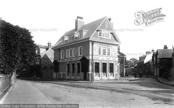 Photo of Weybridge, The New Bank 1897