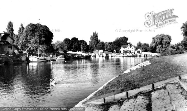 Photo of Weybridge, The River c.1960