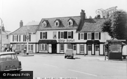 Weybridge, The Ship Hotel c.1965