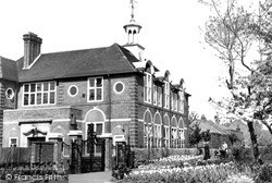 Weybridge, The Technical Institute c.1955