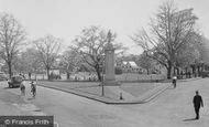 Weybridge, the War Memorial c1955