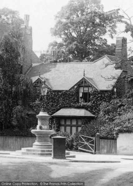 Photo of Weybridge, the Yool Memorial 1906, ref. 55650x