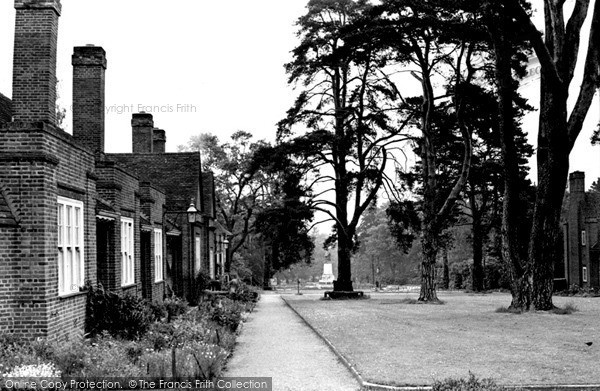 Photo of Weybridge, Whiteley Village c.1955