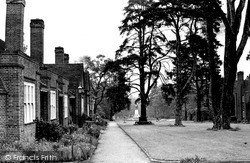 Weybridge, Whiteley Village c.1955