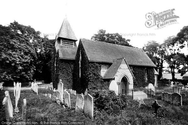 Photo of Weyhill, Church Of St Michael And All Angels 1898