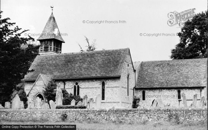 Photo of Weyhill, Church Of St Michael And All Angels c.1950