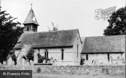 Church Of St Michael And All Angels c.1950, Weyhill