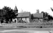 Weyhill, Church of St Michael and All Angels c1950