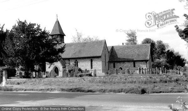 Photo of Weyhill, Church of St Michael and All Angels c1950