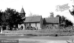 Weyhill, Church Of St Michael And All Angels c.1950