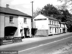 Star Inn And Post Office Stores c.1950, Weyhill
