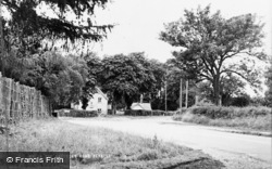 The Amesbury Road c.1950, Weyhill