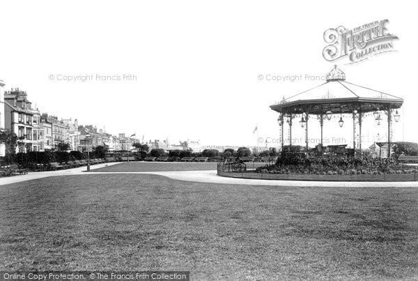 Photo of Weymouth, Alexandra Gardens 1898