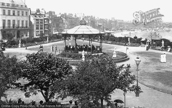 Photo of Weymouth, Alexandra Gardens 1899