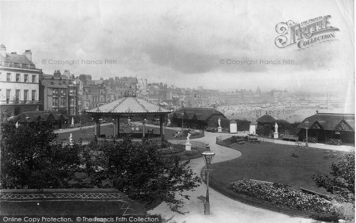 Photo of Weymouth, Alexandra Gardens 1904