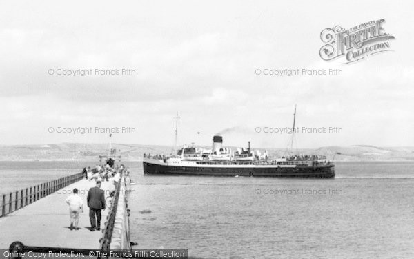 Photo of Weymouth, Arrival Of The Channel Islands Boat c.1955