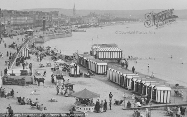 Photo of Weymouth, Beach 1923