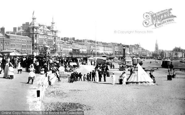 Photo of Weymouth, Beach Show 1899