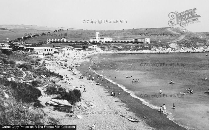 Photo of Weymouth, Bowleaze Cove c.1955