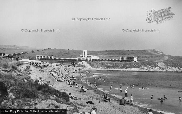 Photo of Weymouth, Bowleaze Cove c.1955
