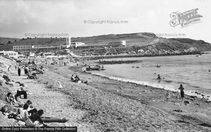 Photo of Weymouth, Bowleaze Cove c.1960