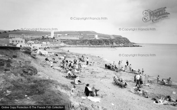 Photo of Weymouth, Bowleaze Cove c.1965