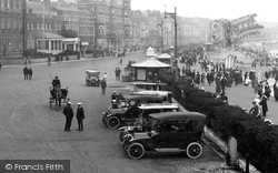 Weymouth, Cars On The Esplanade 1918