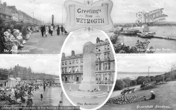 Photo of Weymouth, Composite c.1923