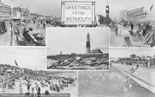 Photo of Weymouth, Composite c.1955