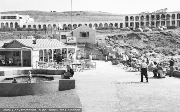 Photo of Weymouth, Cove Cafe, Bowleaze Cove c.1960