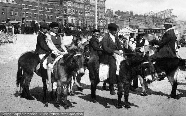 Photo of Weymouth, Donkey Rides 1904