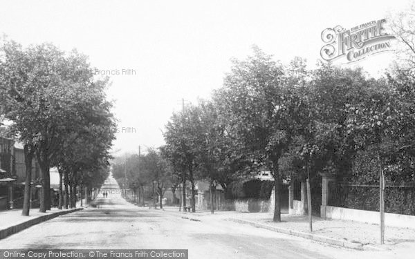 Photo of Weymouth, Dorchester Road 1898