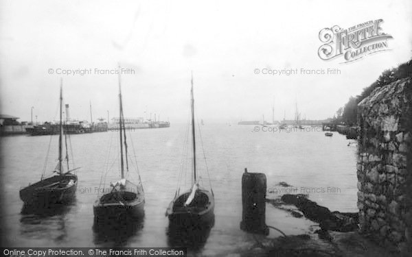 Photo of Weymouth, Entrance To Harbour 1913