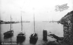 Weymouth, Entrance To Harbour 1913