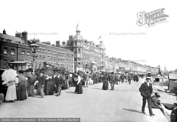 Photo of Weymouth, Esplanade 1899