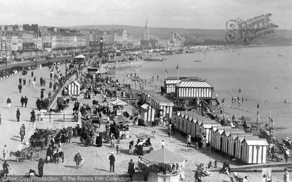 Photo of Weymouth, Esplanade 1923