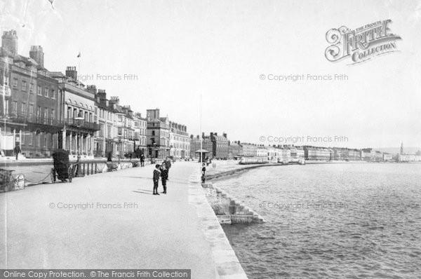 Photo of Weymouth, Esplanade c.1875