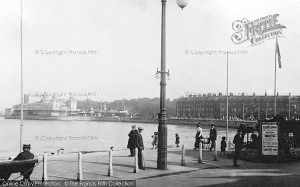 Photo of Weymouth, Esplanade East 1913