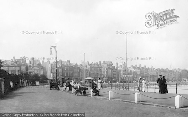 Photo of Weymouth, Esplanade West 1913