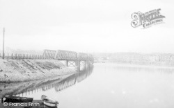 Weymouth, From Backwater Bridge 1913
