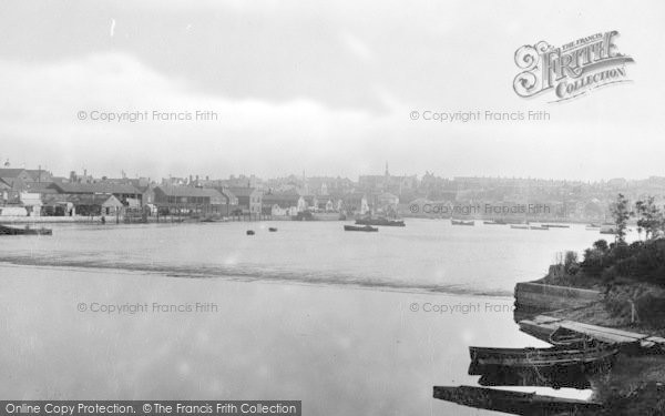 Photo of Weymouth, From Breakwater 1913