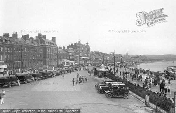 Photo of Weymouth, From The North 1923