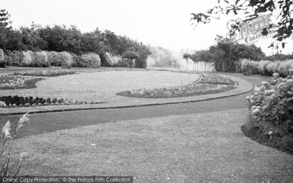 Photo of Weymouth, Gardens, Radipole Park c.1955