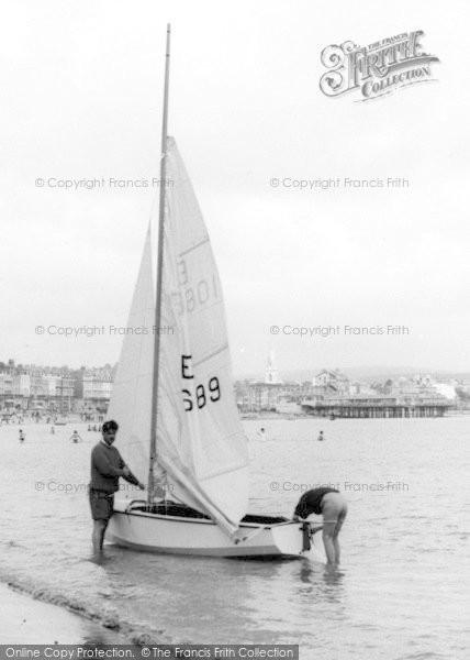 Photo of Weymouth, Going Sailing c.1965