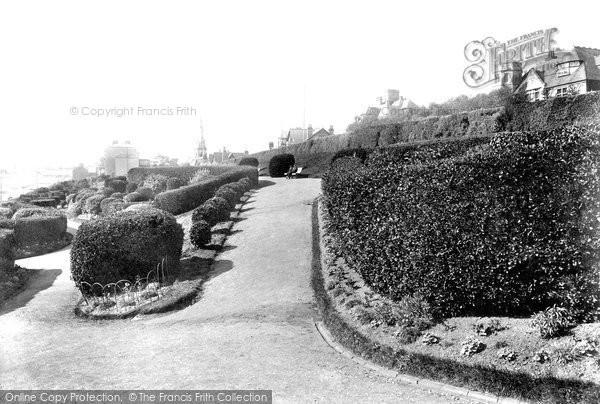 Photo of Weymouth, Greenhill Gardens 1904