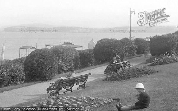 Photo of Weymouth, Greenhill Gardens 1918