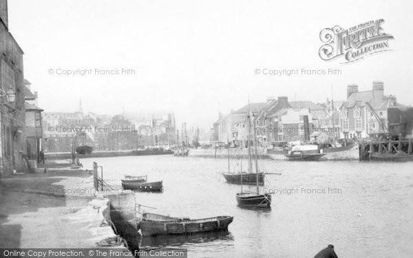 Photo of Weymouth, Harbour 1890