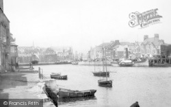 Weymouth, Harbour 1890